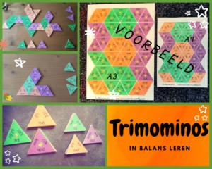 Triominos Breuken-Procenten-Decimalen spel